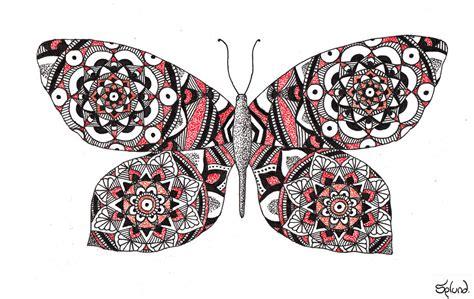 Mandala Butterfly by Splund Art on DeviantArt