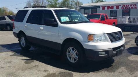 Expedition 6710 White Black Leather Original purchase used 2006 ford expedition xlt leather loaded 3row