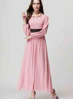 Gamis Import Murah Gamis Pink Cantik Import Terbaru Jual Model Terbaru