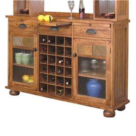 sunny designs 2416ro sedona 77 h buffet and hutch in sunny designs sedona rustic oak 7 piece dining set