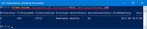 format hard drive powershell how to format hard drive using powershell password recovery