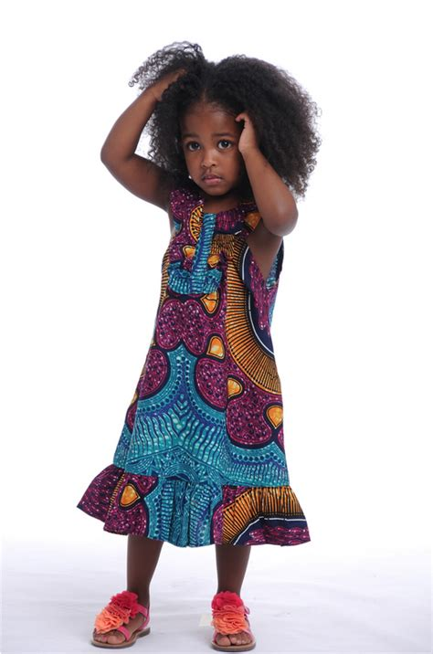 childrens ankara fashion street style of the day children in ankara african prints