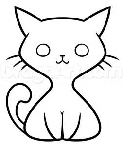 drawing doodle cat 1 kawaii black cat drawing lesson step by step drawing