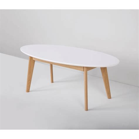 table basse table basse scandinave ovale skoll by drawer