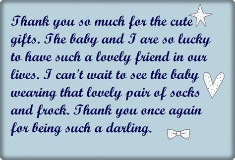 Thank You Saying For Baby Shower by Baby Shower Thank You Wording Poems And Quotes