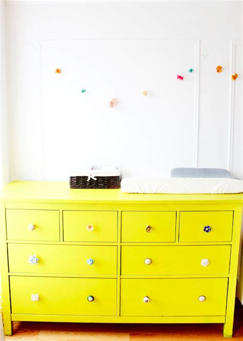 painting ikea dresser ikea hemnes dresser painted bright yellow i k e a