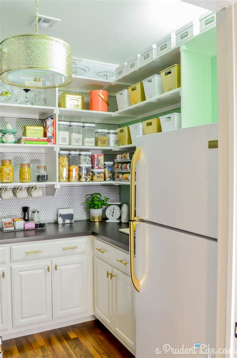 The Prudent Pantry by Organized Pantry Reveal One Room Challenge Polished