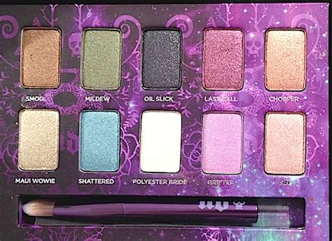 Best Eyeshadows Expert Reviews by Makeup Review Swatches Decay Ammo Palette 10