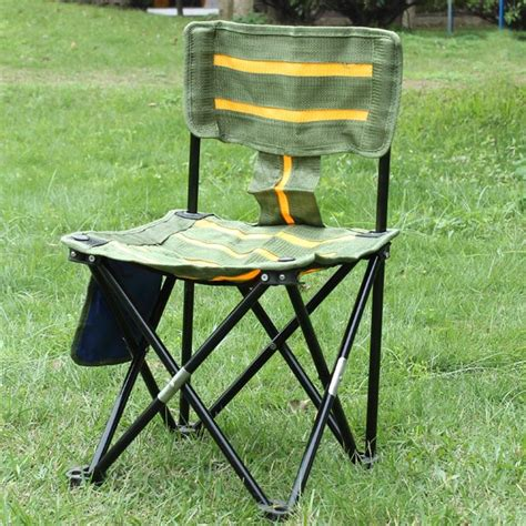 portable outdoor furniture outdoor portable striped chair folding fishing chair fishing tools alex nld