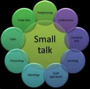 images small talk: small talk your way to a great negotiation the business english