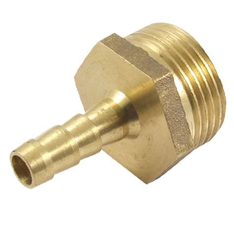 l fitting adapters 3 4bsp male thread 8mm air water hose brass barb fitting