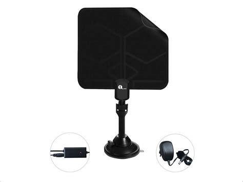 1byone leaf thin digital indoor tv hdtv antenna with excellent reception neweggflash