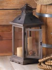 Woods Vintage Home Interiors Rustic Decorative Western Vintage Antique Look Wood Candle Lantern Home Decor Ebay