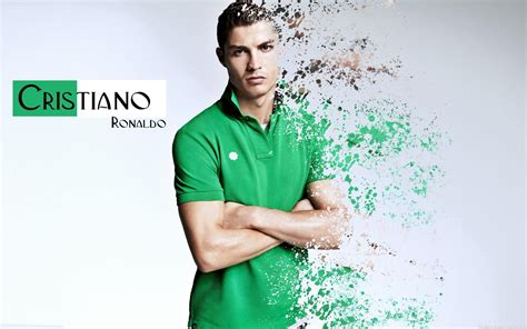 Tshirtt Shirt Cr7 A cristiano ronaldo in green shirt wallpaper cristiano ronaldo wallpapers
