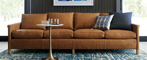 Types Of Sofa Fabrics by Sofa Fabric Types Crate And Barrel