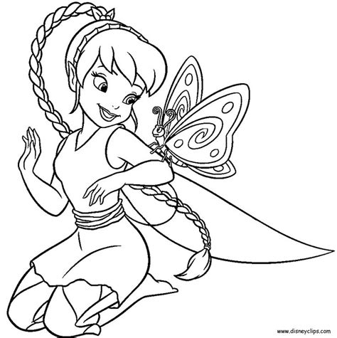 Fawn Coloring Page Disney Fairies Pinterest Disney Fawn Coloring Pages