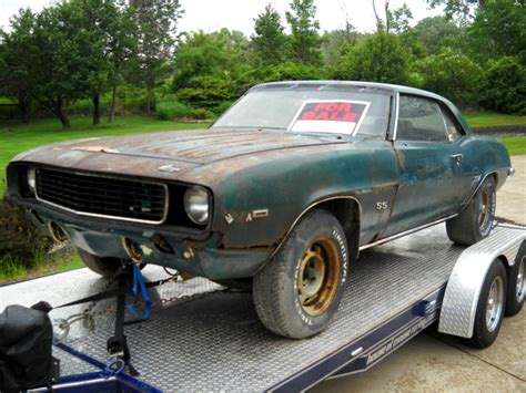camaro for sale 1969 chevrolet camaro ss for sale