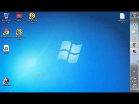 barra de herramientas superior windows 7 como cambiar de lado barra de tareas