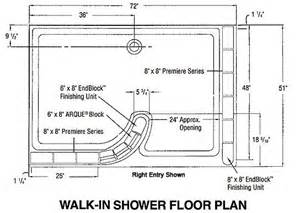 walk in shower floor plans glass block shower walk in floor plan bathroom remodel pinterest shower drain glasses