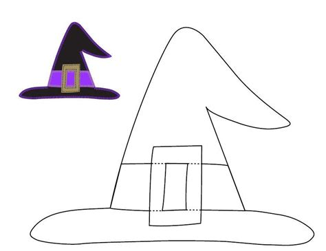 paper witch hat template shoe templates search results calendar 2015