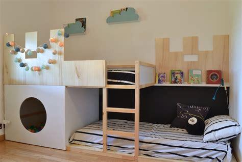 un lit enfant kura transform 233 en ch 226 teau fort