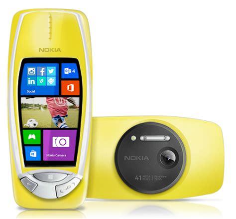 Hp Nokia 3310 Pureview nokia 3310 pureview 41mpixels april fools day
