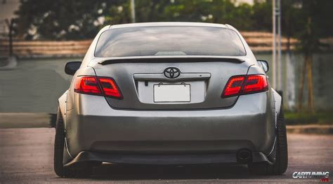 widebody toyota toyota camry v40 widebody rear