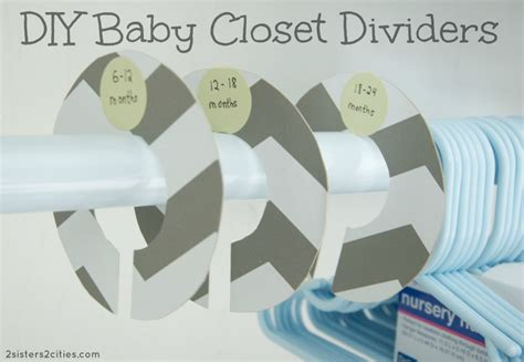How To Make Baby Closet Dividers diy baby closet dividers 2 2 cities