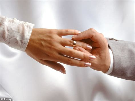 moving your wedding ring to your right hand ohio state university researchers say couples who just