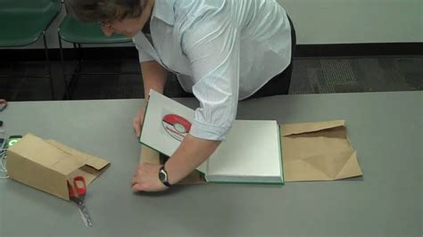 Book Covers Out Of Paper Bags - paper bag text book cover quot how to quot