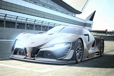 toyota visio toyota ft 1 concept heads to pebble and gran turismo
