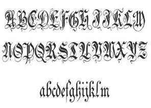 unique zenda cursive tattoo fonts pictures fashion gallery