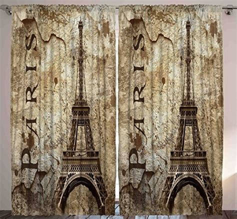 eiffel tower bedroom curtains paris themed curtains