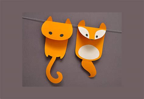 Animal Paper Craft - paper craft template 9 documents in psd