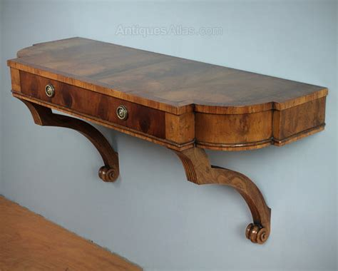 wall mounted console table antiques atlas yew wood wall mounted console table