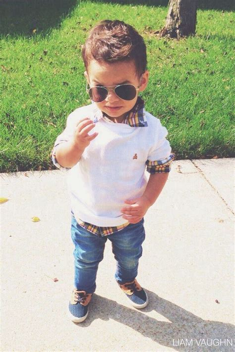 Boy Style toddler aviators and preppy sweater even though the sunglasses would be broken by noon