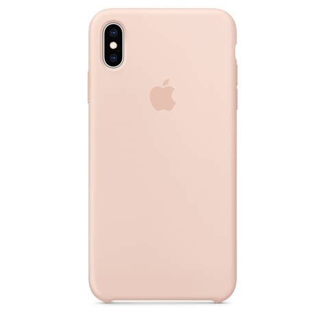 iphone xs max silicone pink sand business apple