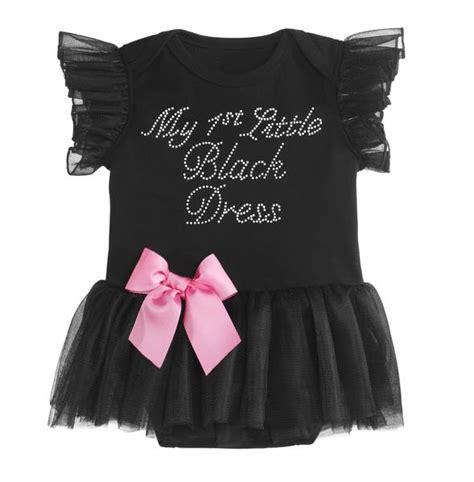 black baby dress baby ganz my black dress onesie hearts