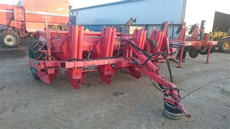 Potato Planters For Sale by Kverneland Four Row Potato Planter For Sale Attlefield