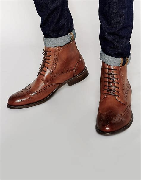 standard fortyfive standard fortyfive leather brogue