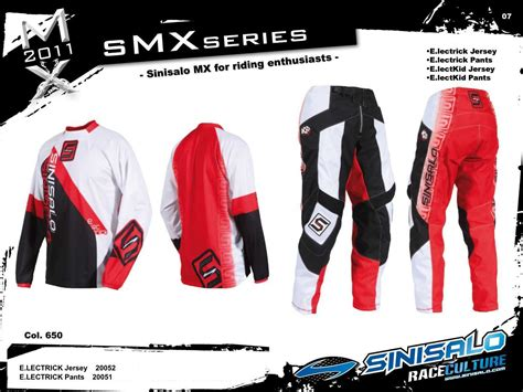 sinisalo motocross gear sinisalo 2011 smx