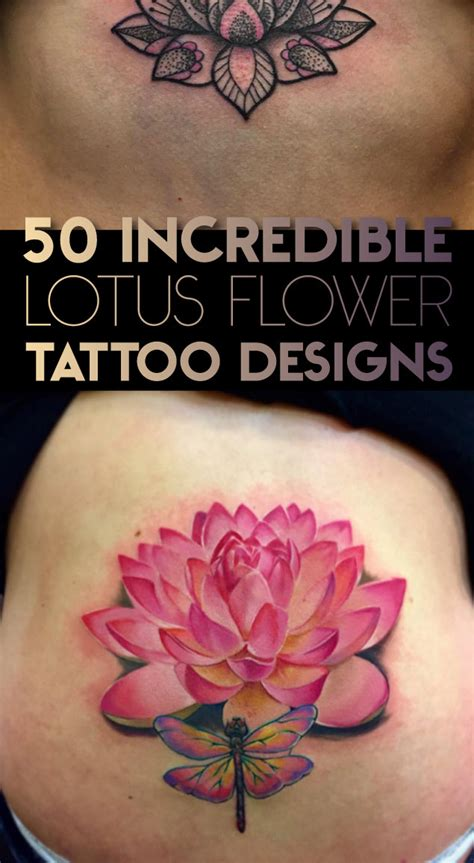 tattoos lotus flower design 50 lotus flower designs tattooblend