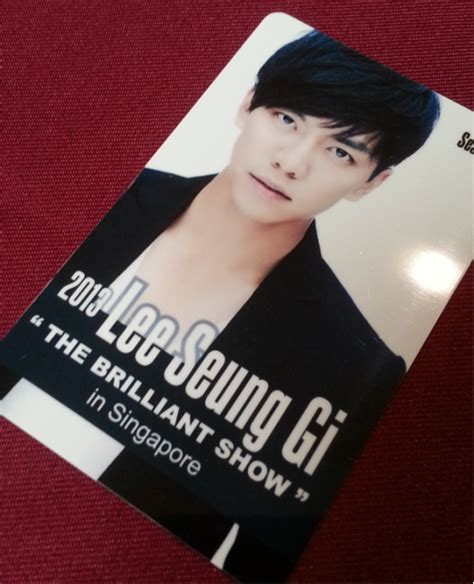 lee seung gi grand prize premium tickets to lee seung gi s quot the brilliant show quot in
