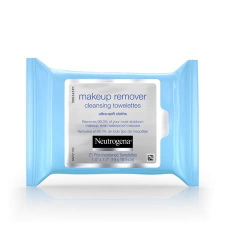 Neutrogena Makeup Remover neutrogena makeup remover cleansing towelettes wipes 21
