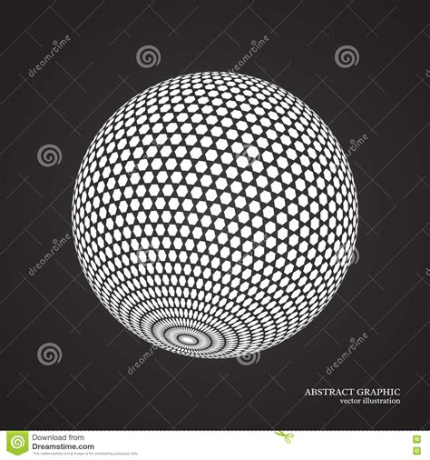 dot pattern globe abstract globe dotted sphere 3d dot effect white color