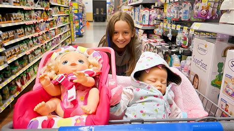 baby walmartcom shopping with baby alive poops and pees doll and with r