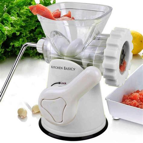Vegetable Grinder Mincer best grinder vegetable grinder mincer sausage stuffer cooking kitchen 3 n 1 ebay