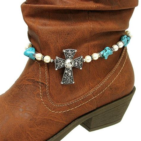 how to make boot jewelry bead cross western cowboy boot jewelry