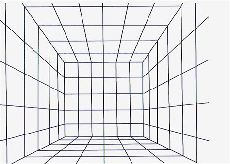 layout grid line perspective grids