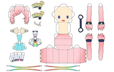 Miku Papercraft - vocaloids on vocaloid papercrafts deviantart